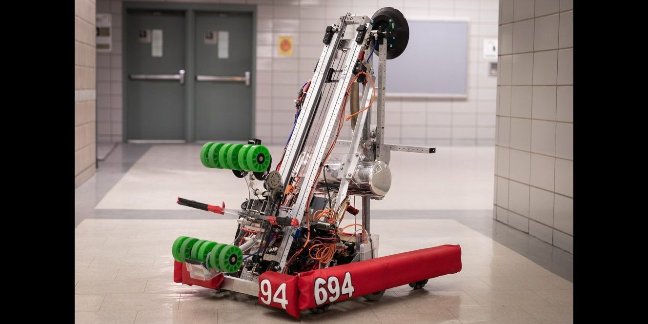Our 2019 season robot, Alfred!